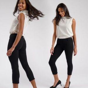 Betabrand Cropped Dress Pant Yoga Pant Size XS B3